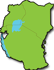 east africa map blank | Roaming Africa Tours & Safaris